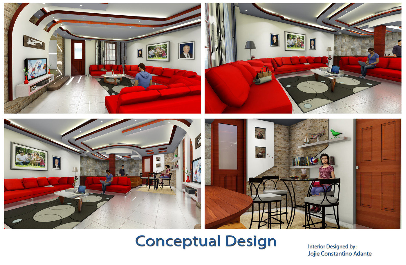 Interior Design 1 5 By Jojie Adante At Coroflot Com