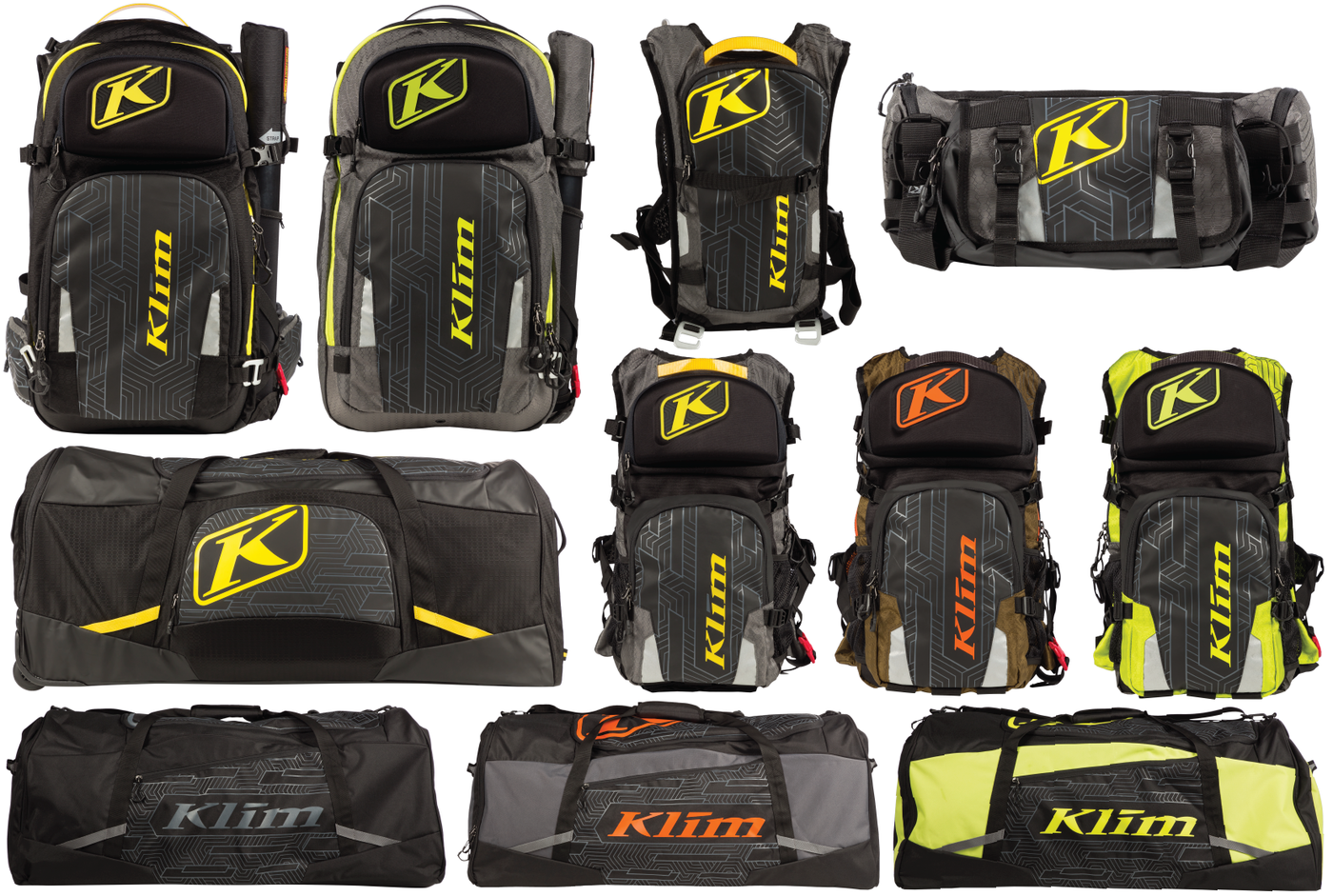 Klim Packs Gear Bags By Joe Christensen At Coroflot