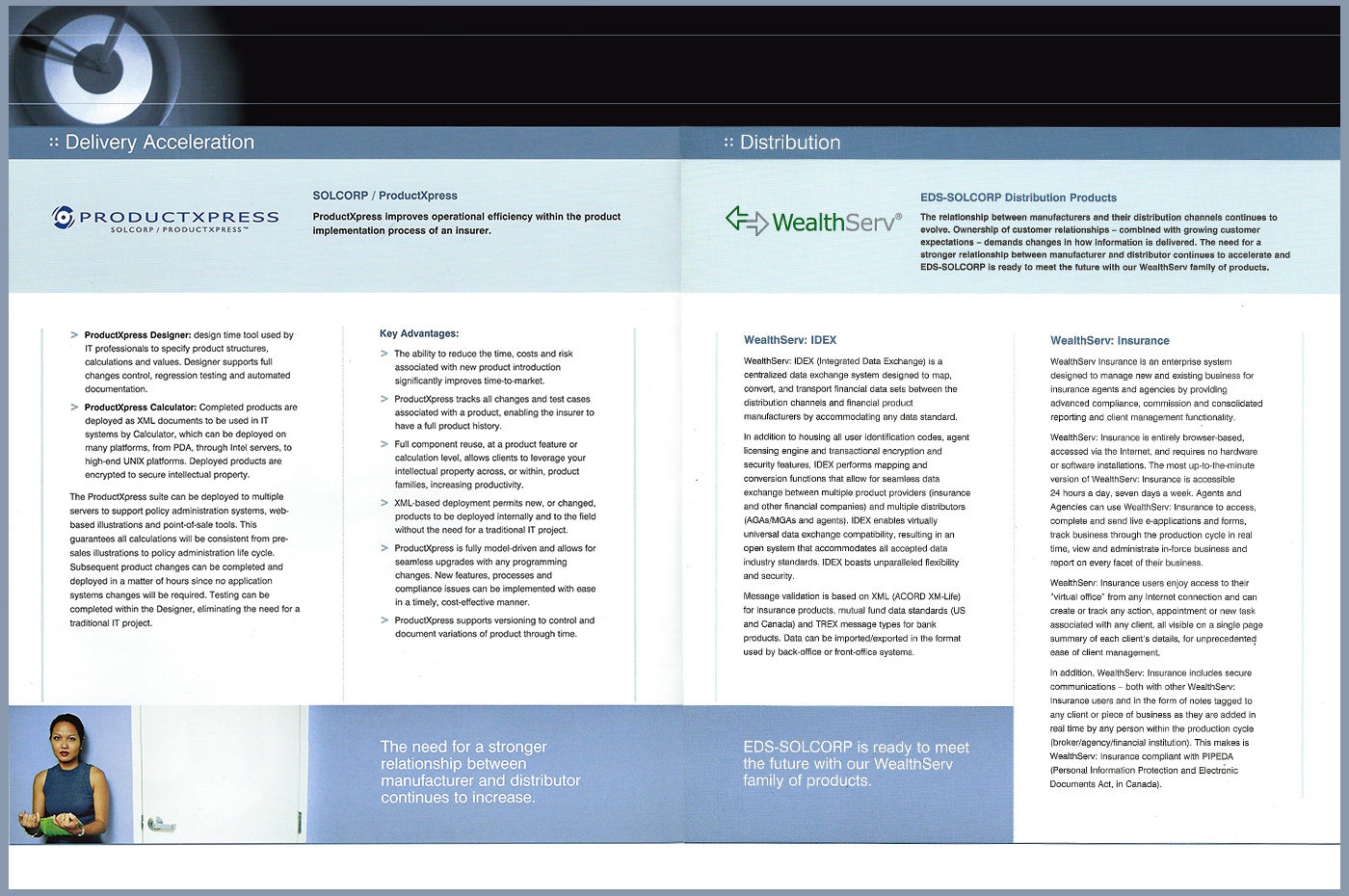 EDS-SOLCORP Solutions Offerings Brochure by Joe Gravel at Coroflot com