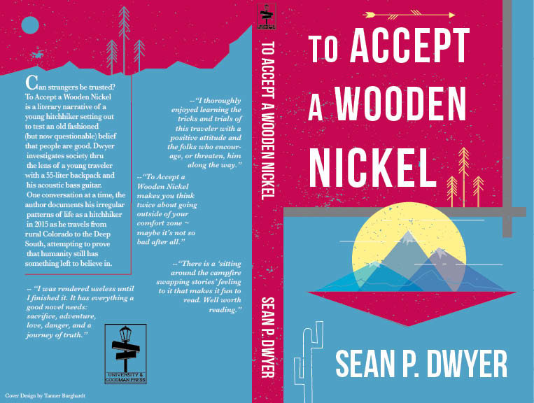 To Accept A Wooden Nickel Book Cover By Tanner Burghardt At