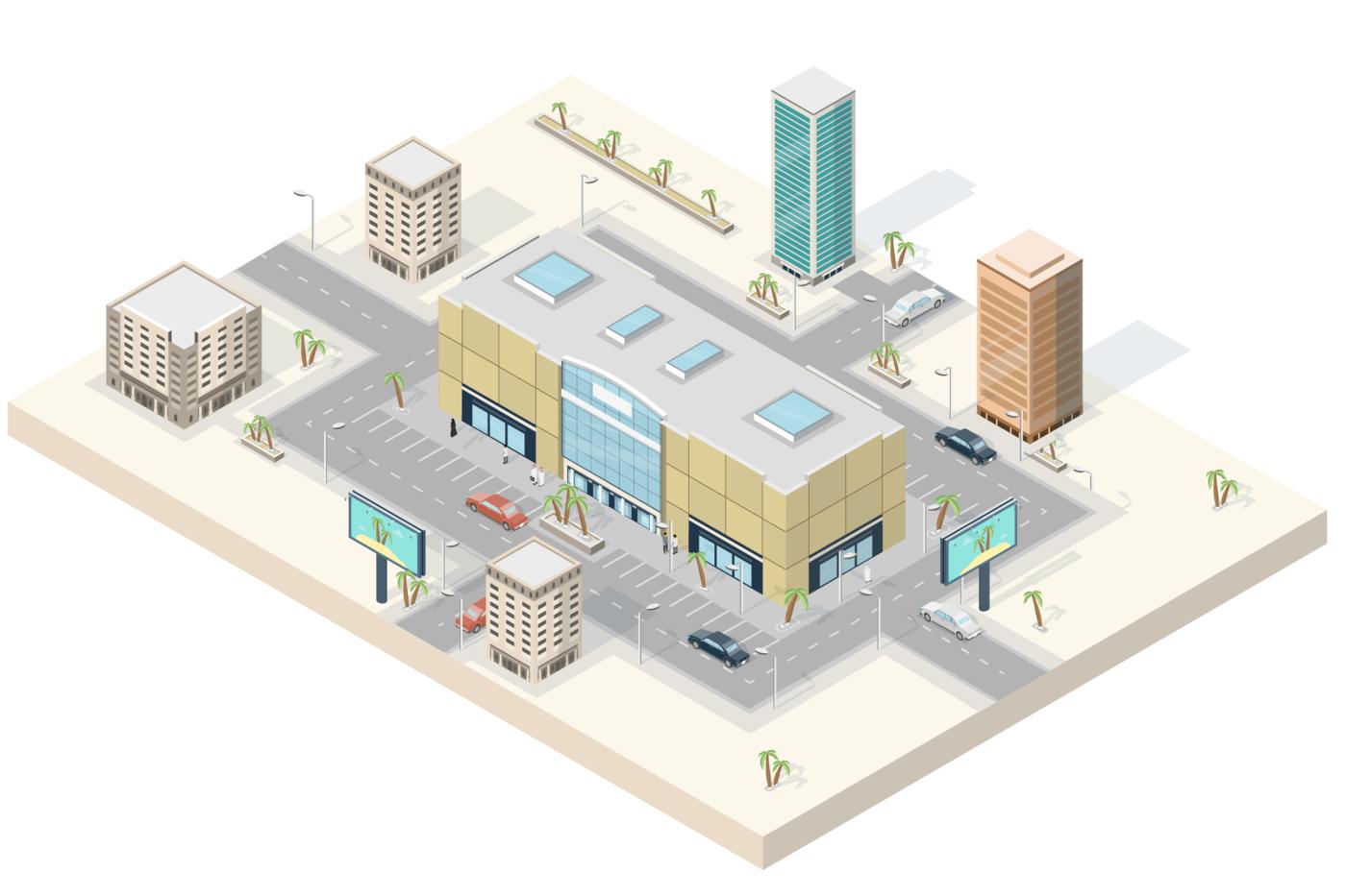 Smart Shopping Mall (IoT) by Dan Kindley at Coroflot com
