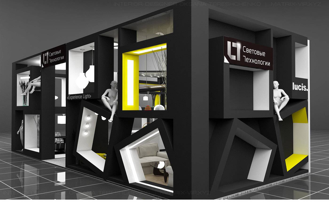Exhibition Stand Lighting Near Me : Exhibition stand lighting technologies on behance expo expo
