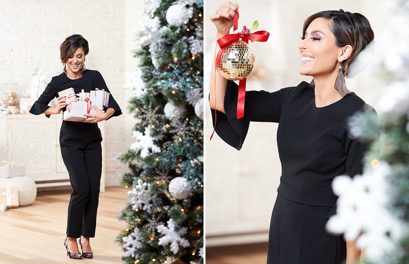 Photoshoot Direction Xmas Qvc Hosts By Stephanie White At Coroflotcom