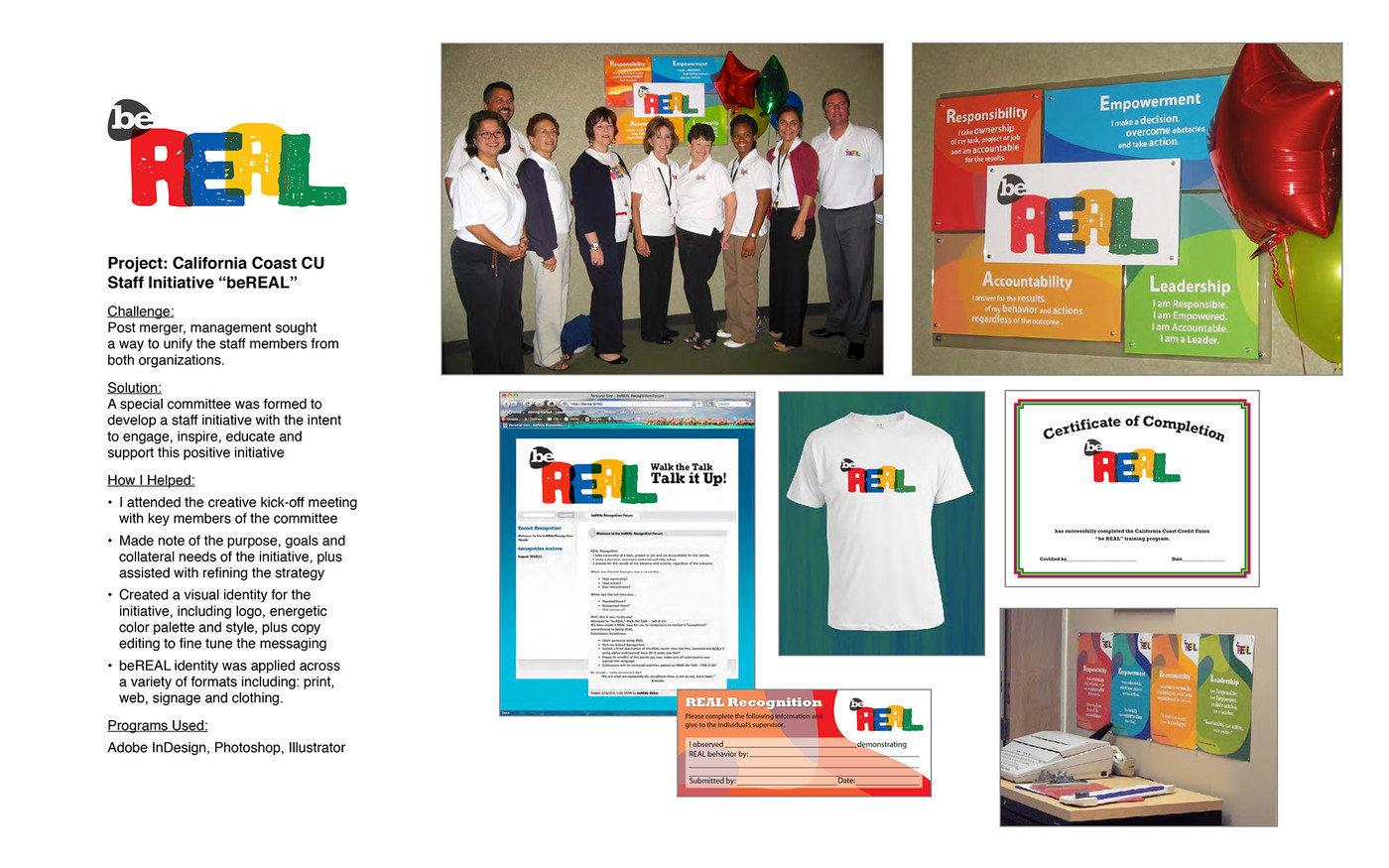 Corporate Staff Initiative Identity & Collateral by Dawn