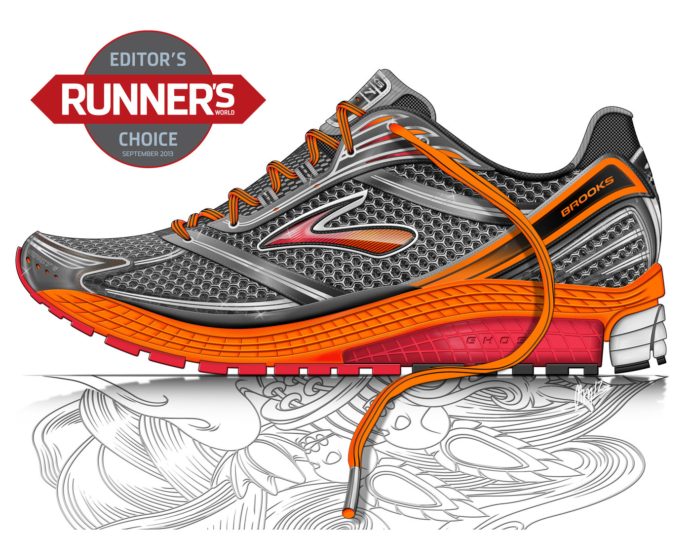 467541c283c Brooks Running Shoe Co by Cameron Braithwaite at Coroflot.com