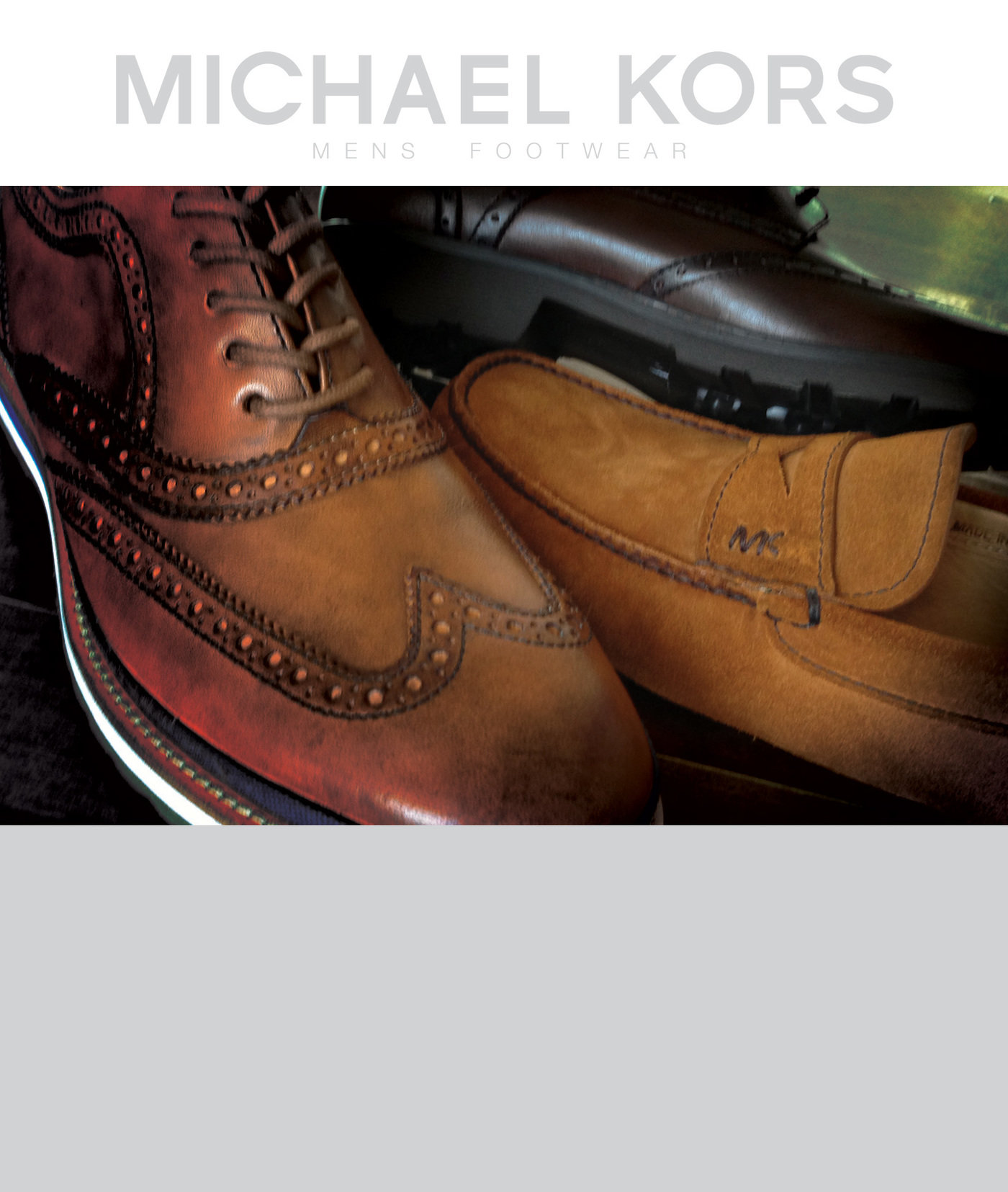 Michael Kors FW2013 Mens Footwear by
