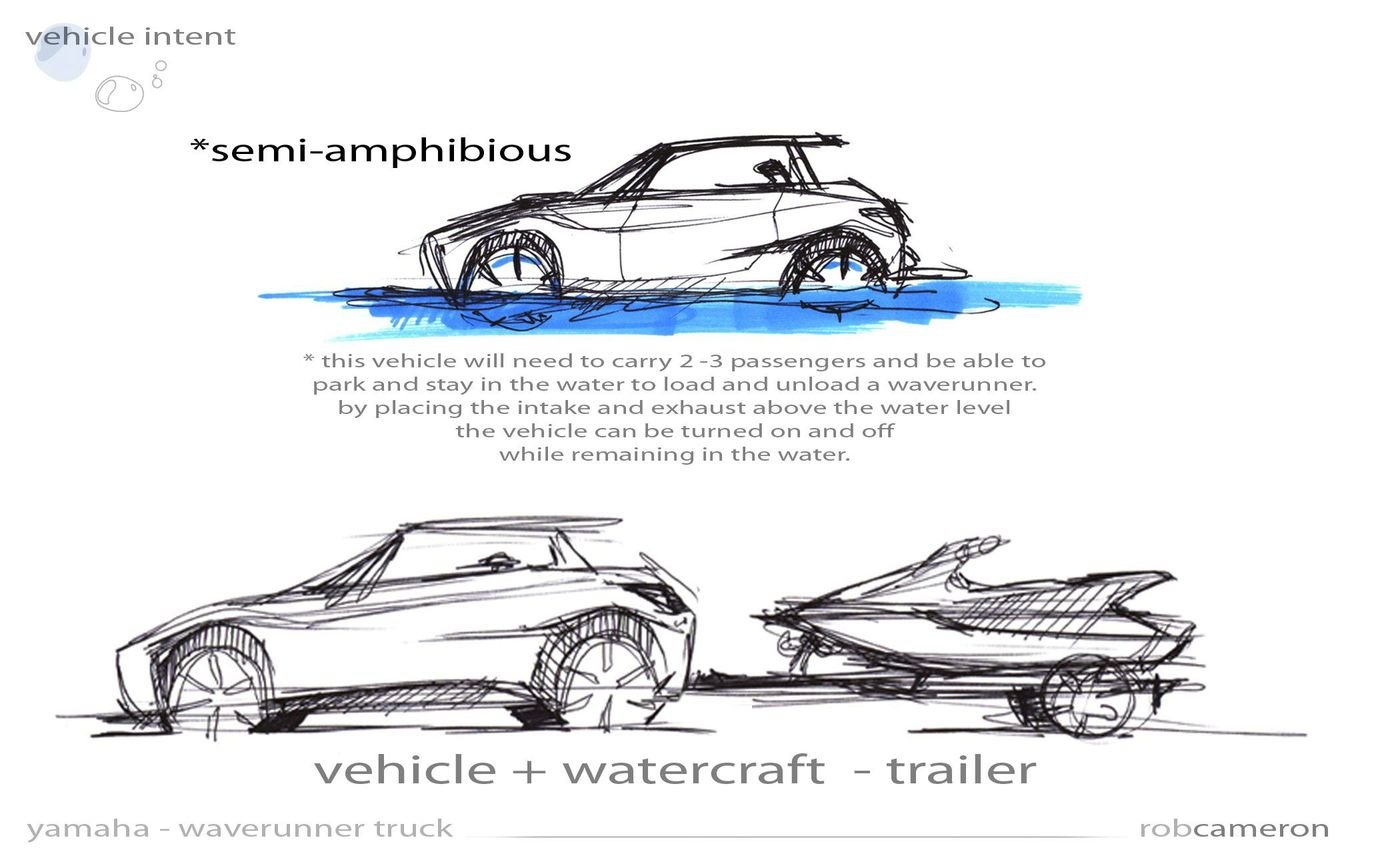 yamaha amphibious vehicle by rob cameron at coroflot com