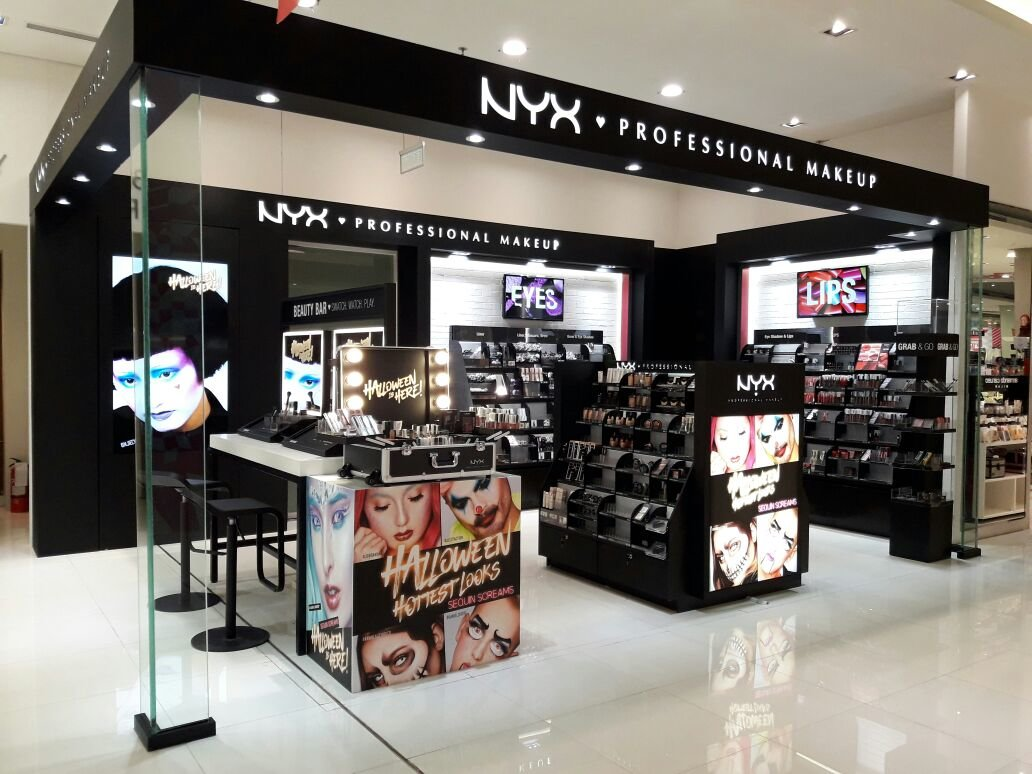Nyx Professional Makeup Department Store Counter