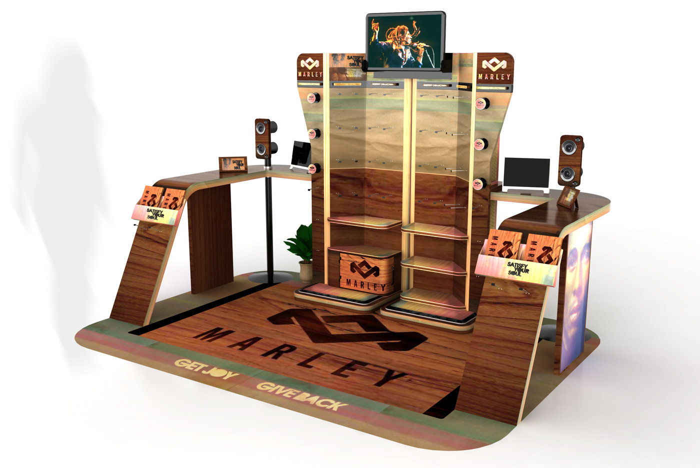 Point Of Sale Display Stands By Germaner Product Design