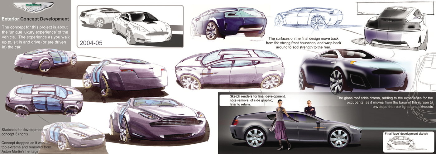2004 To 2005 Nu Luxury Aston Martin 4 Seater Exterior Interior