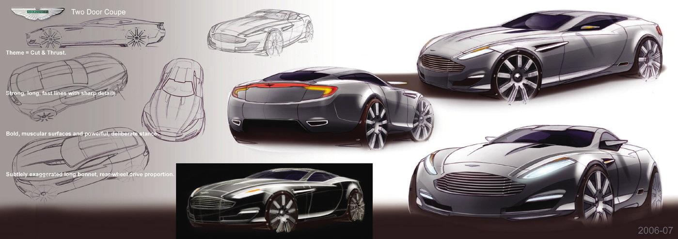 2006 To 2007 Cut Thrust Aston Martin Coupe Exterior Interior