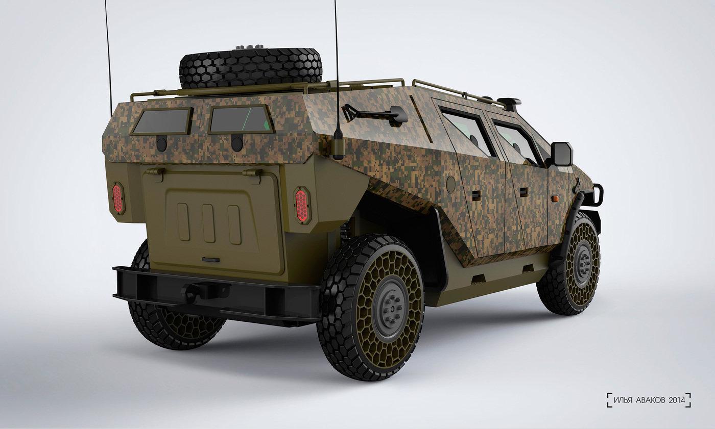 Military Vehicle Concept By Ilya Avakov At Coroflot Com