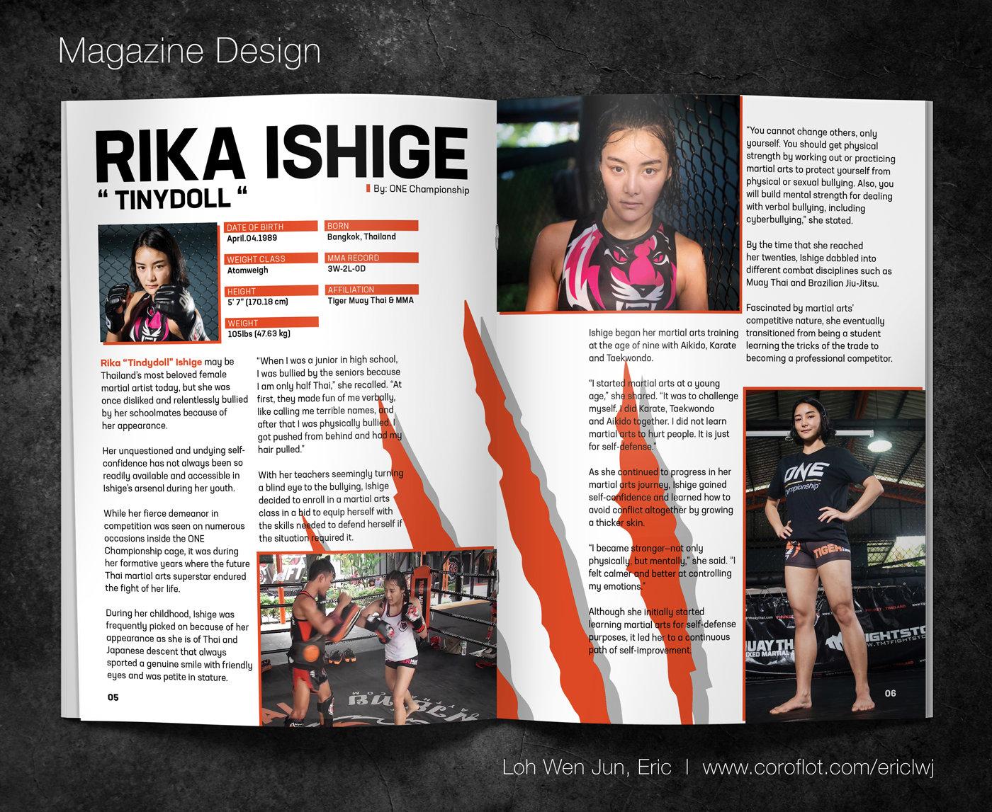 Tiger Muay Thai and MMA Magazine by Loh Wen Jun, Eric at