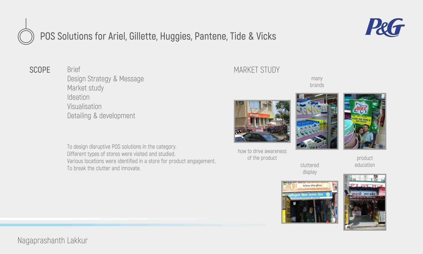 P&G - Ariel, Gillette, Huggies, Pantene, Tide, Vicks by