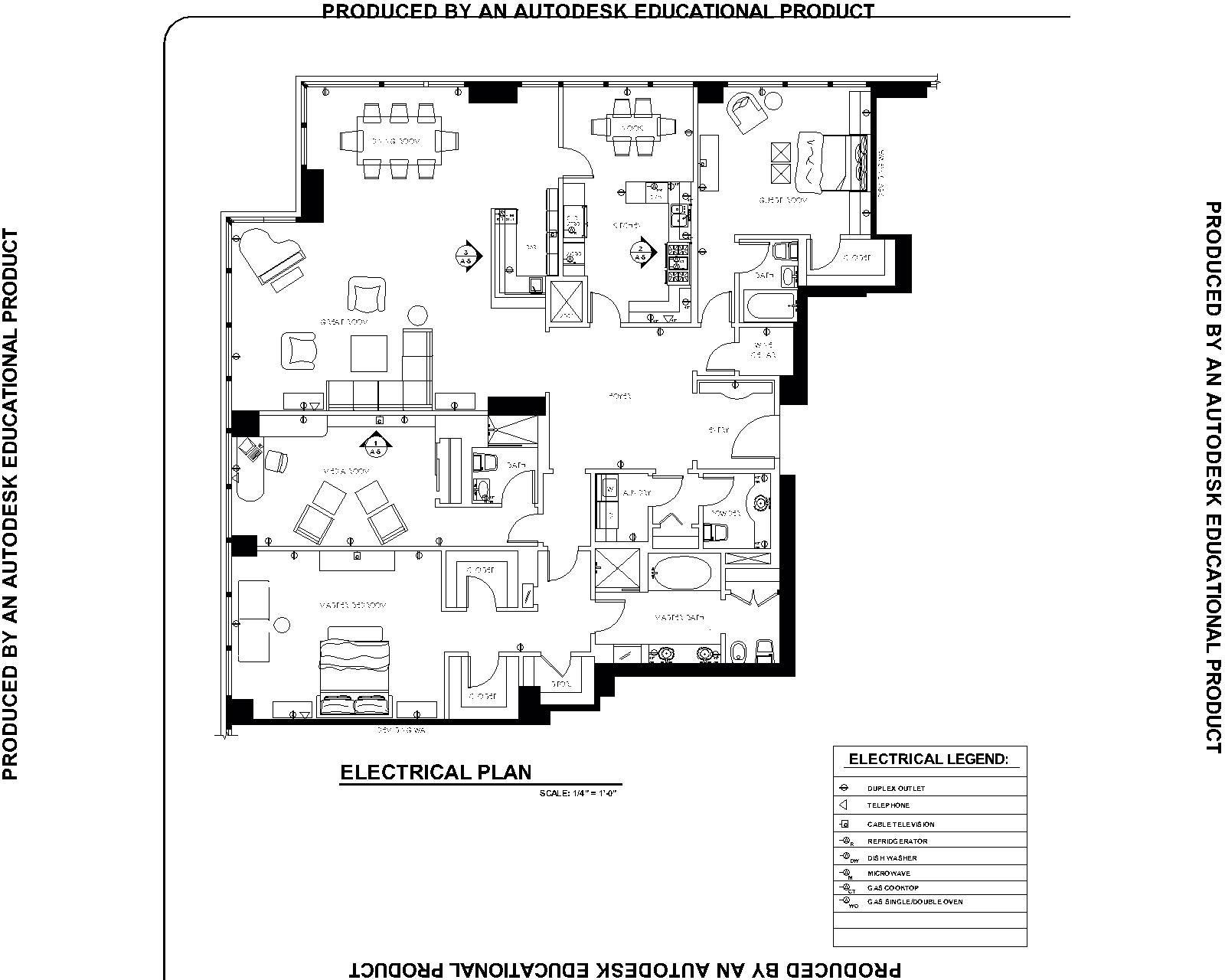 Interior Electrical Plan - Interior Ideas