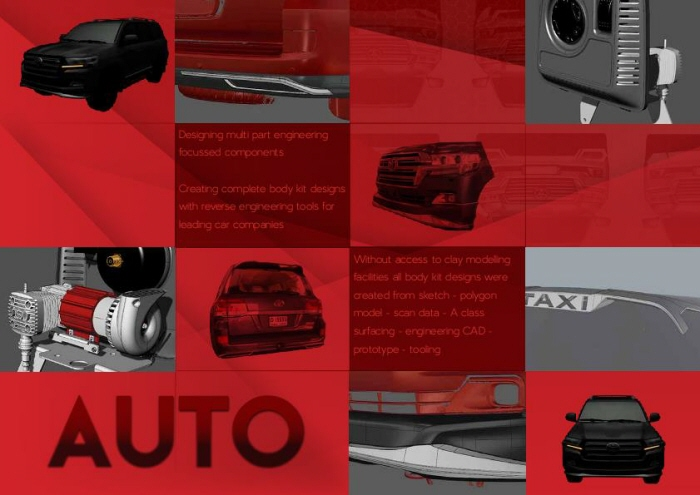 Car accesspry design by Jay Langdon at Coroflot com