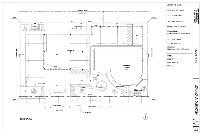 Architectural Drawings - AutoCAD by Jeremy Hoke at Coroflot com