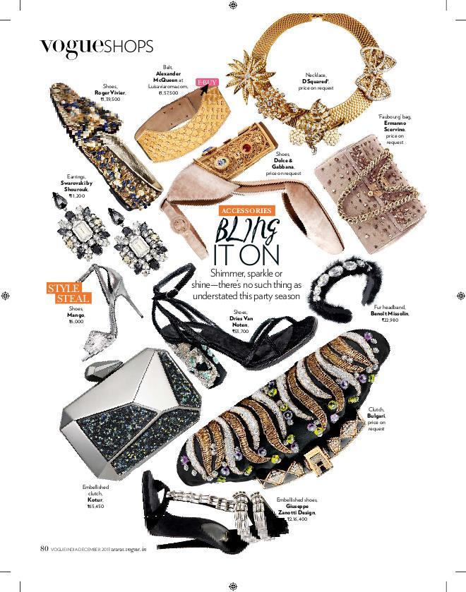 Vogue India by c'sam Muivah at Coroflot com