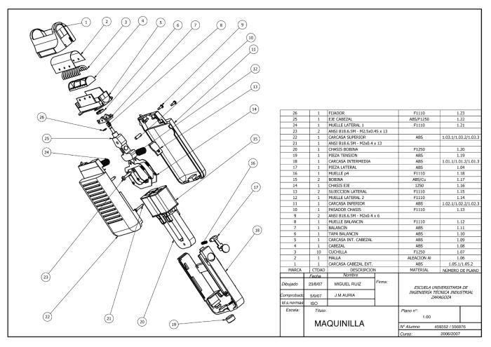 technical drawings  u0026 3d mechanical design by miguel ruiz