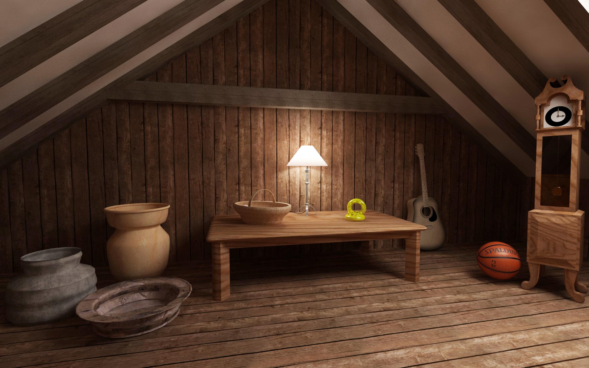 tiny attic ideas - BBC Cartoon Background Pitch by Daniel Kington at Coroflot