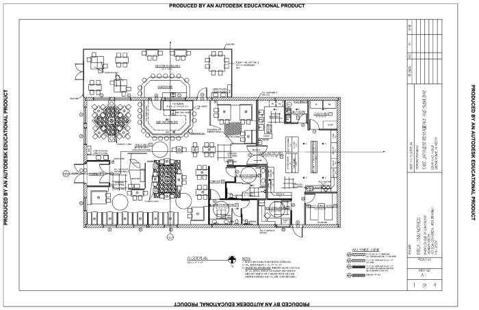 Restaurant floor plan pdf how to