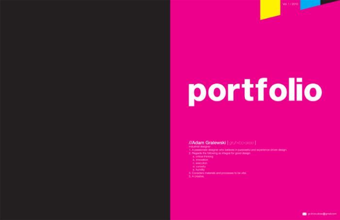 portfolio by adam gralewski at coroflot com