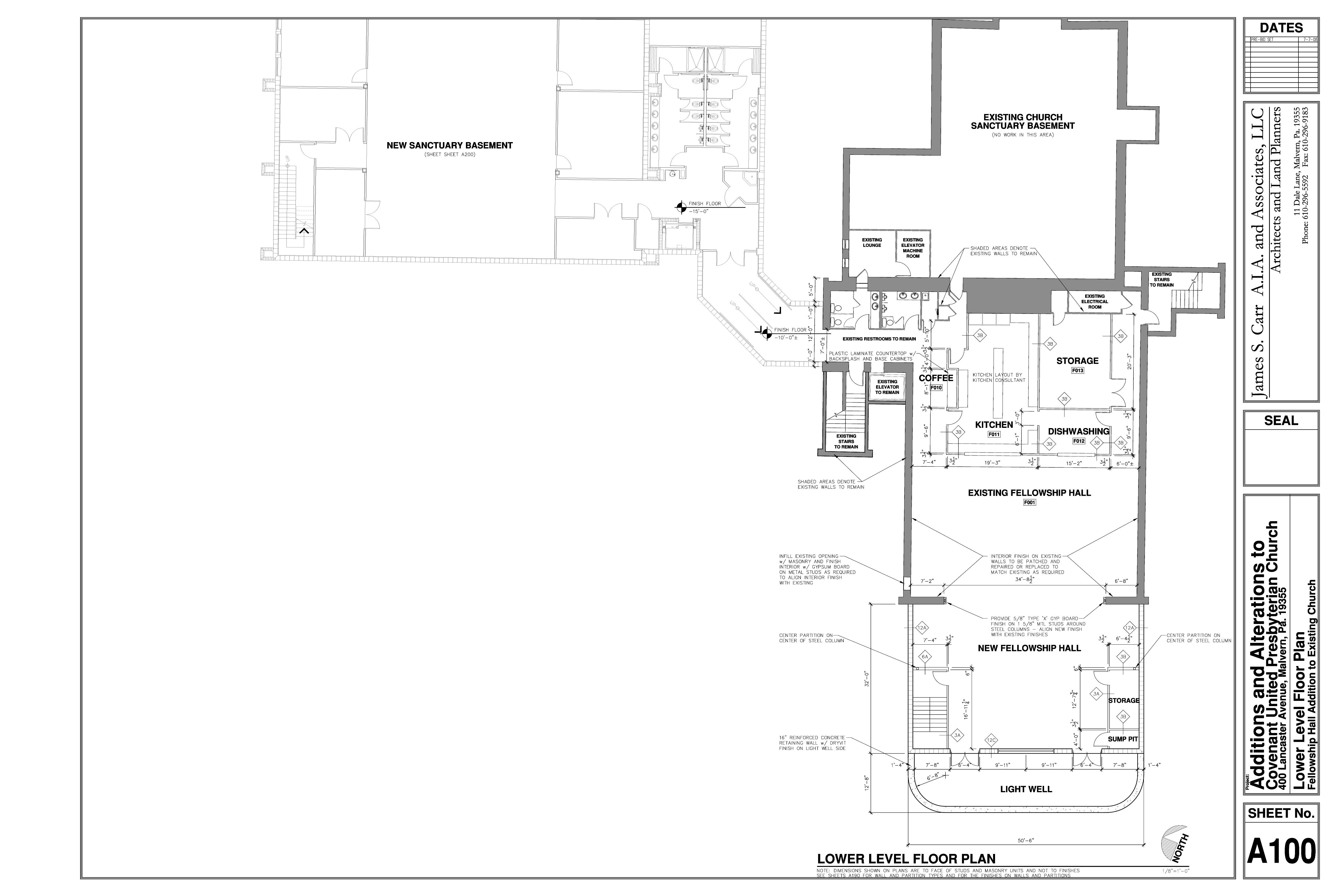 Church fellowship hall floor plans floor matttroy for Tnd house plans