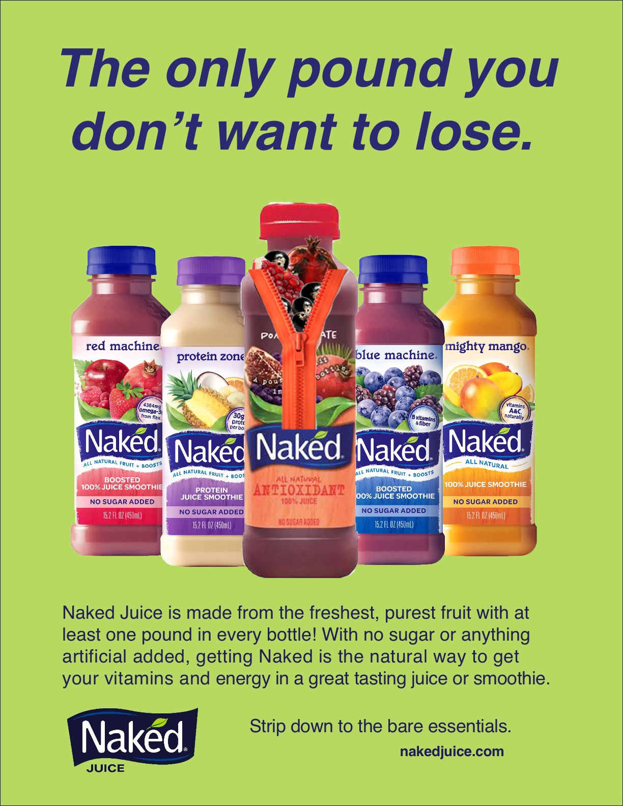 Fake Naked Juice Ad by wfr10a - Issuu