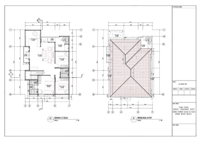 Desain Rumah Modern Minimalis Bekasi By Jowar Studio At Coroflot Com