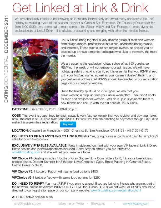 Linx Dating-Events