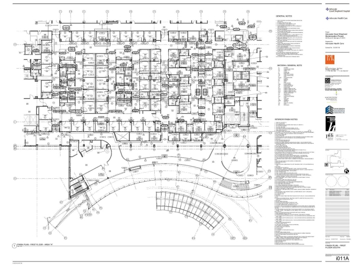 Hospital floor plan with dimensions pdf