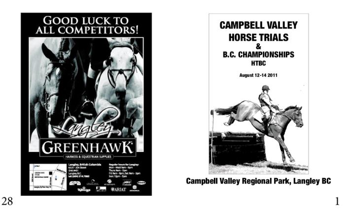 Campbell Valley Equestrian Society by Kimiko Foster at