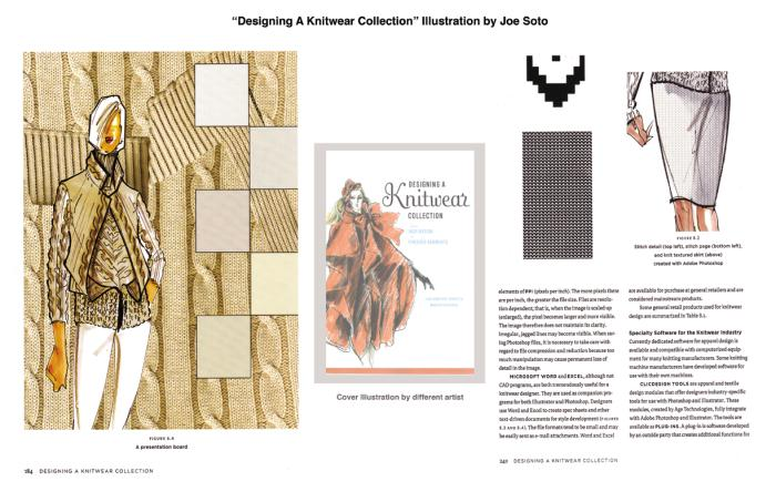 Published Illustration Designing A Knitwear Collection By Joe Soto At Coroflot Com