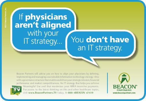 Beacon Partners Healthcare Ad Campaign by David MacGregor at