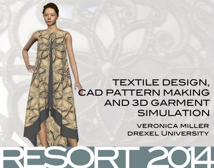 Textile Design And 3d Simulation By Veronica Marche Miller At Coroflot Com