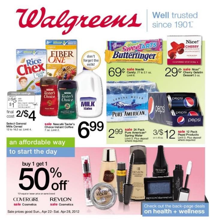 Walgreens Circular by Michael Louderman at Coroflot com