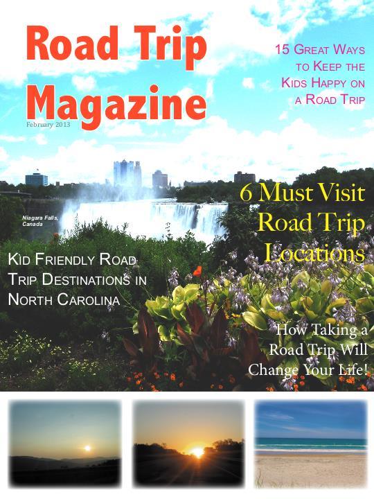 Road Trip Magazine by Rebecca Allen at Coroflot com