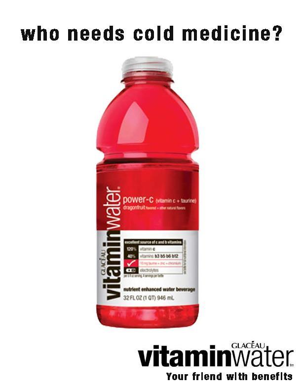 Glaceau Vitamin Water Pdf