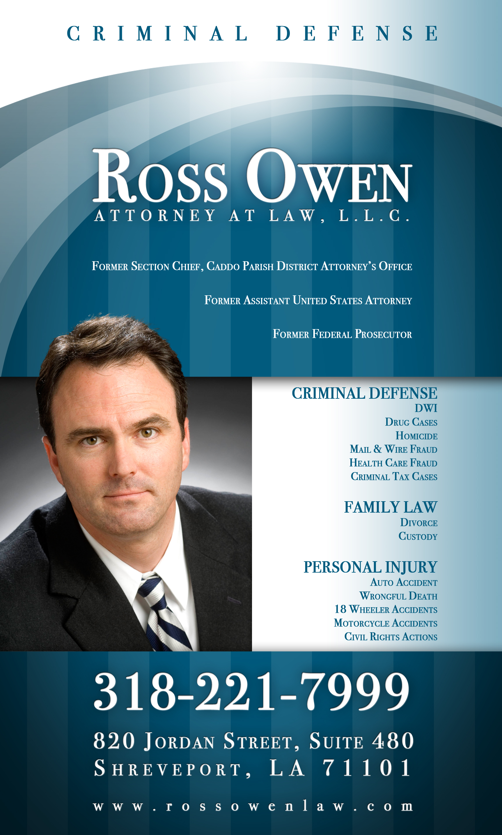 Ross Owen | Criminal Defense Advertising by Christopher P