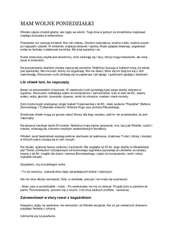 Articles Publications By Izabela Marczak At Coroflotcom