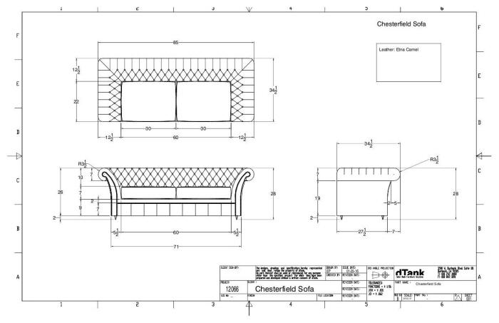 Chesterfield Sofa By Elias Portillo At Coroflot Com