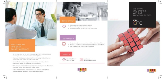 IDFC - website, mailers, brochures by SANJIT ROY at Coroflot com
