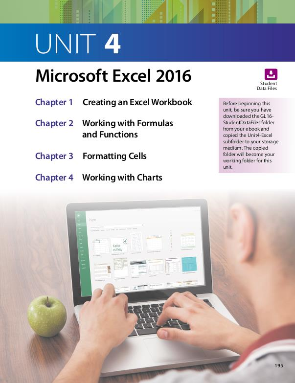 Guidelines for Microsoft Office 2016 textbook by VALERIE