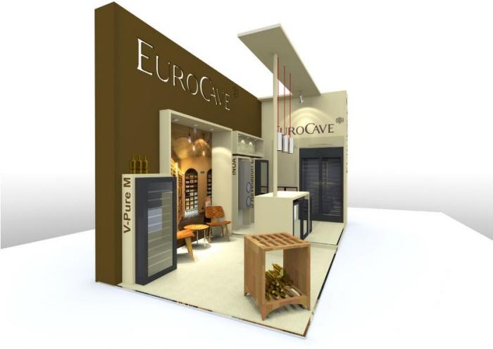 Exhibition Stand Design Brief Pdf : Custom build exhibition stand design eurocave by jason damon at