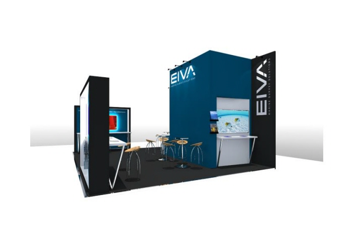 Exhibition Stand Design Brief Pdf : Custom build exhibition stand design eiva by jason damon at