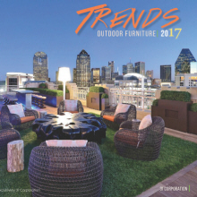 outdoor furniture trends. Simple Furniture 2017 Outdoor Furniture Trends With
