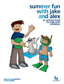 Summer Fun With Jake And Alex Illustrated Book