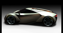 Electric Car By Florin Baetica At Coroflot Com