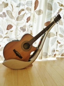 Wooden Guitar Stand By Tom Norrington At Coroflot Com