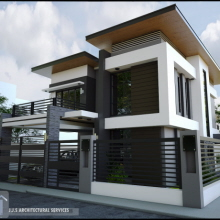 2 Storey 8 Units Commercial Building By Jjs Architectural Services
